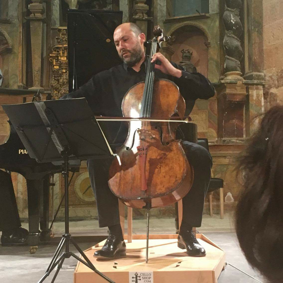 Alvaro Huertas Andrea Cello Sanctus Rosin